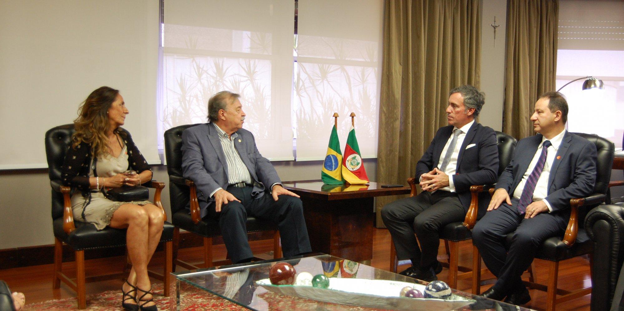 Dirigentes da empresa Energias De Portugal (EDP)