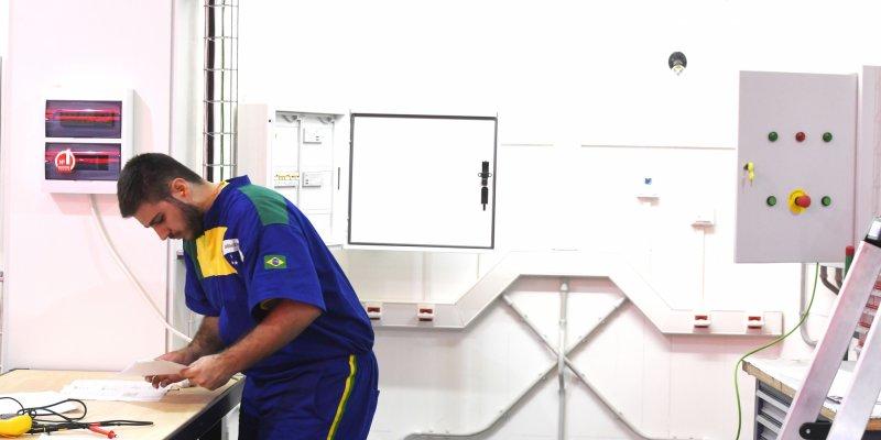 Instalações Elétrica Prediais - WorldSkills Kazan 2019