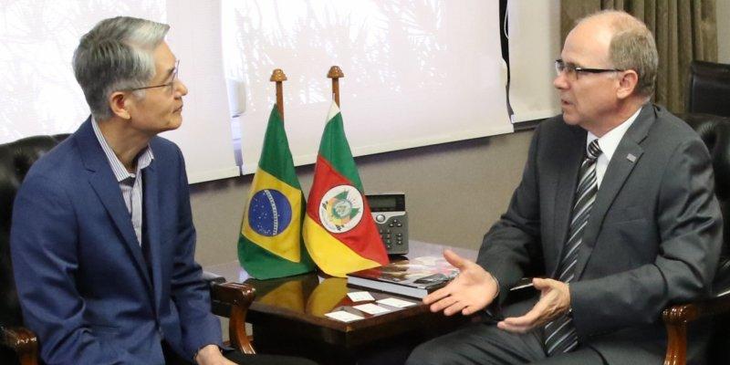 Embaixador coreano