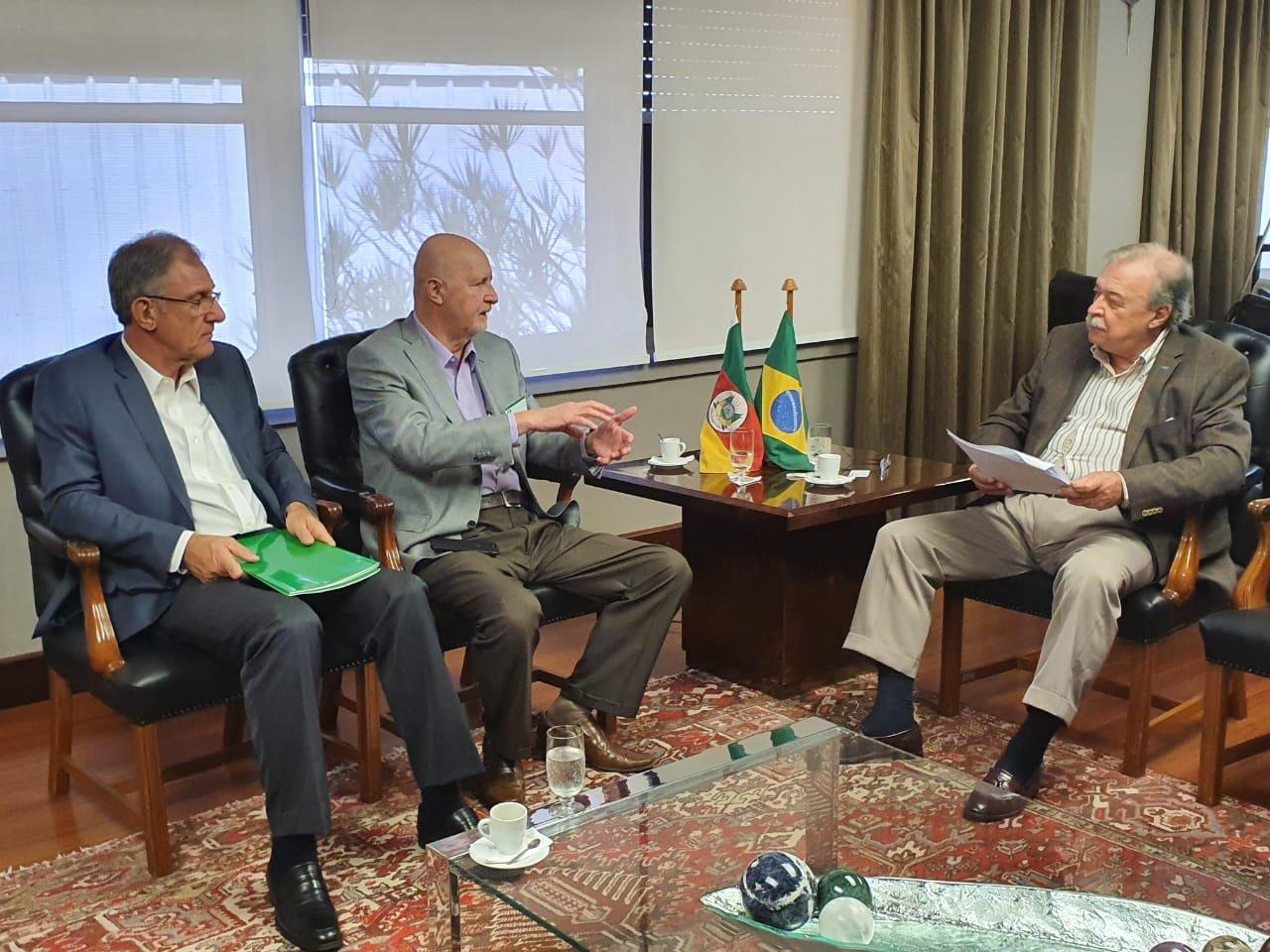 Presidente da John Deere visita a FIERGS